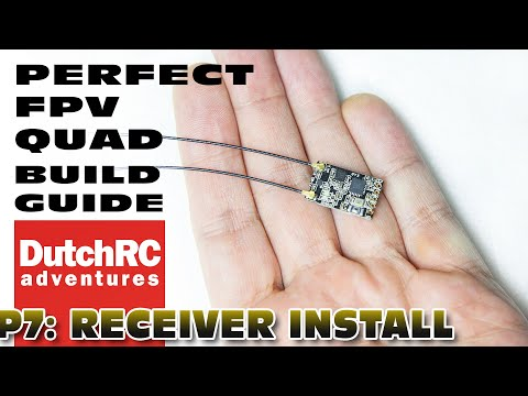You like having a receiver in your drone? :)  Here is how to install it