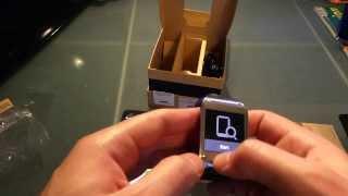 Samsung Galaxy Gear Test SM-V700 Smartwatch Test