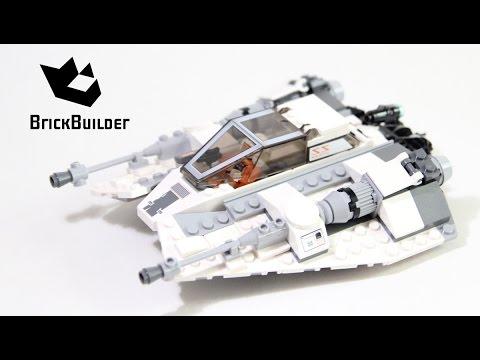 Vidéo LEGO Star Wars 75049 : Snowspeeder
