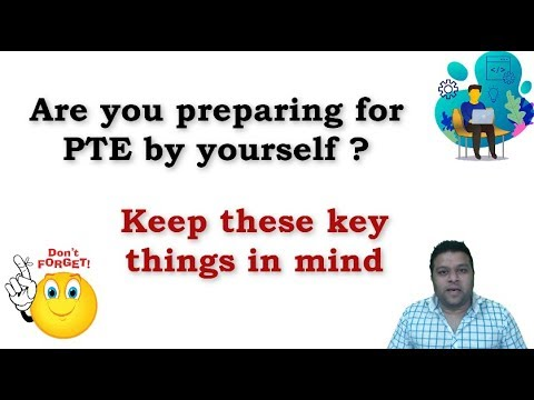 PTE EXAM - How To Prepare At Home - YouTube