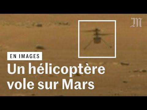 Les images d'Ingenuity, le premier hélicoptère à voler sur Mars Les images d'Ingenuity, le premier hélicoptère à voler sur Mars