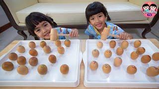 หนูยิ้มหนูแย้ม | เล่นทุบไข่ Kids Activities
