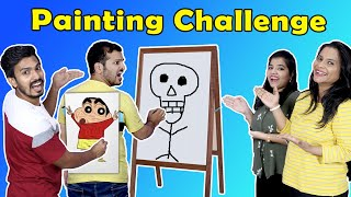 Funniest Painting Challenge | Drawing Competition | Hungry Birds