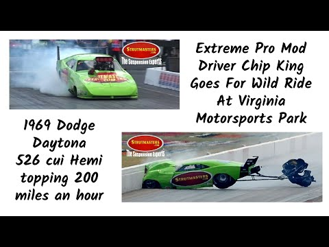 Strutmasters Racing – Chip King Drag Racing Wreck With Strutmasters