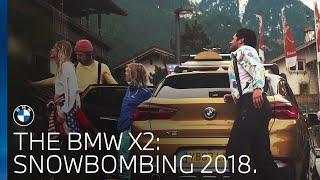 The BMW X2   Snowbombing 2018.