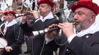 preview picture of video 'Fiestas de San Juan 2013 en Eibar.'