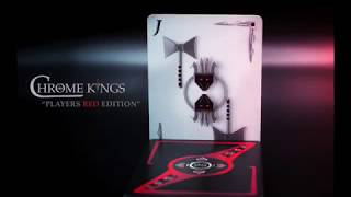 CHROME KINGS RED PLAYERS EDITION MAGIC TRICK - TAUGHT ON VIDEO - WATCH NOW!