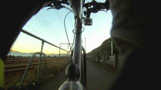 preview picture of video 'Petone to Wellington CBD - 12x Speed, Seat-post camera'