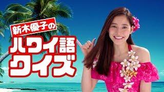 日本CM新木優子化身陽光女郎為你送上夏威夷美食學習當地語言