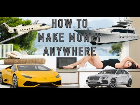 How To Make Money Anywhere – Especially with Real Estate and options trading – entrepreneur