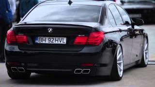 Очень Красивый Ролик BMW 7 Серии Диски Vossen