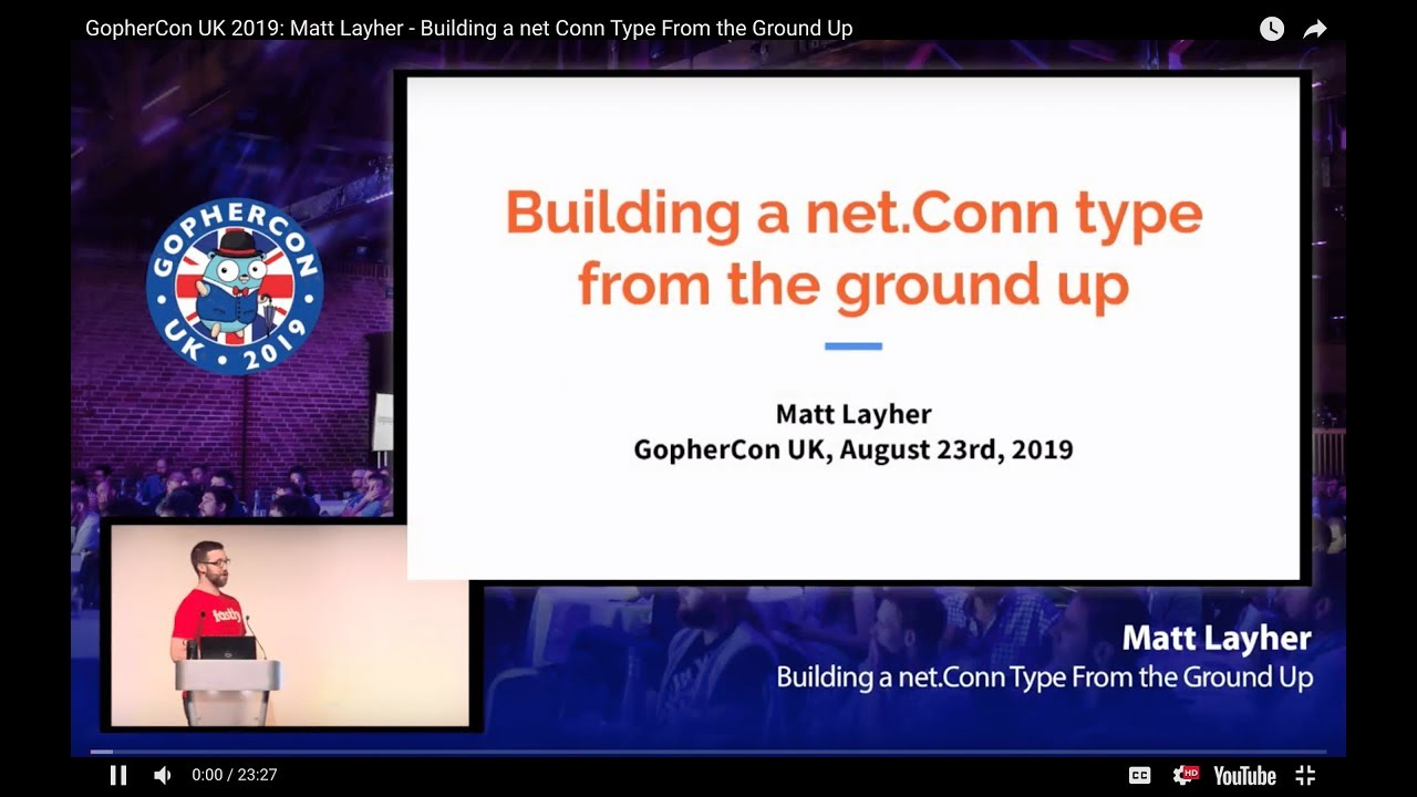 Building a net Conn Type From the Ground Up