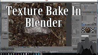 bake de textura no blender