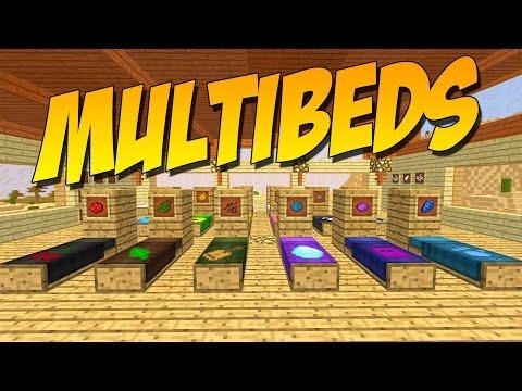 MULTIBEDS: Mod De Camas Personalizables - Minecraft Mod 1.9.4/1.9/1.8.9
