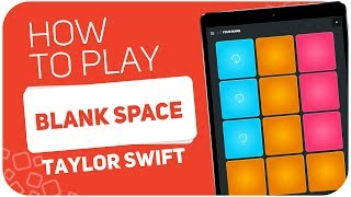 BLANK SPACE (Taylor Swift) - SUPER PADS - Kit YOUR NAME