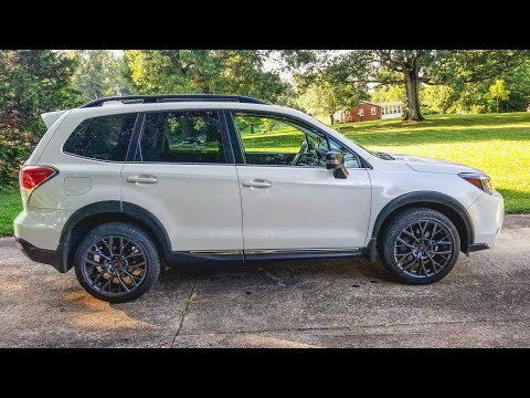 NEW 2019 STI Wheels on 2018 Subaru Forester XT and more mods on the way!!!!