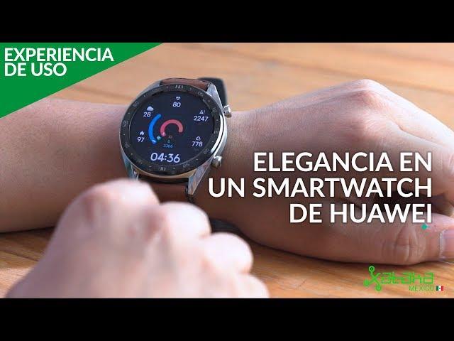 Huawei Watch GT, EXPERIENCIA DE USO: Para los deportistas que también buscan estilo