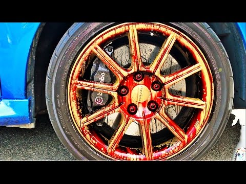 Extremely Clean Rims? How? – Clutched Product Review of the Sonax Wheel Cleaner