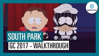 GAMESCOM 2017 - DEMO GAMEPLAY DE SOUTH PARK THE FRACTURED BUT WHOLE