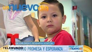 Adamari López nos lleva a conocer el St. Jude Hospital | Un Nuevo Día | Telemundo