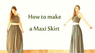 DIY Maxi Skirt | Sew & Wear Ep. 7