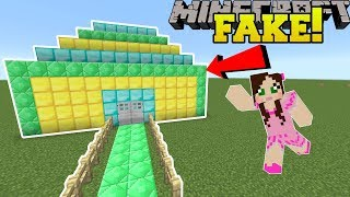 Minecraft: THIS TREASURE ROOM IS FAKE!!! - Find The Button Extreme 3 - Custom Map