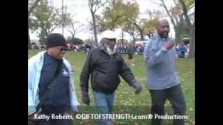 Marine Corps Marathon w/Dick Gregory Video by Kathy Roberts ©GIFTOFSTRENGTH.com® Productions