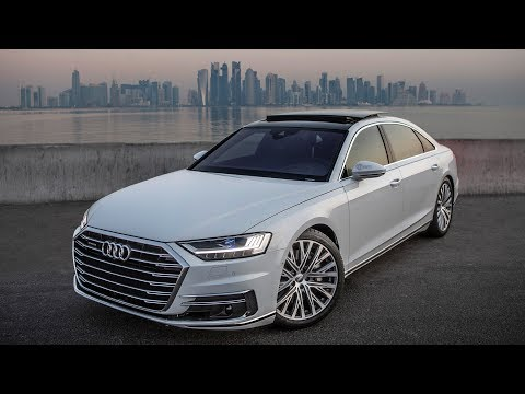 Audi  A8 Long Седан класса F - рекламное видео 3