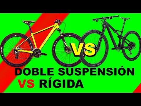 BICICLETA RIGIDA Vs DOBLE SUSPENSION | HARDTAIL Vs FULL SUSPENSION |CUAL ES MEJOR  │TrotaMontesMTB