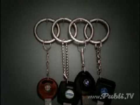 Audi llaveros