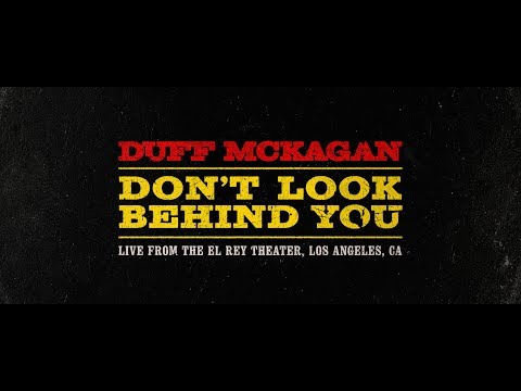 Duff Mckagan Don't Look Behind You
