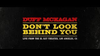 Duff McKagan   Don't Look Behind You (Live)