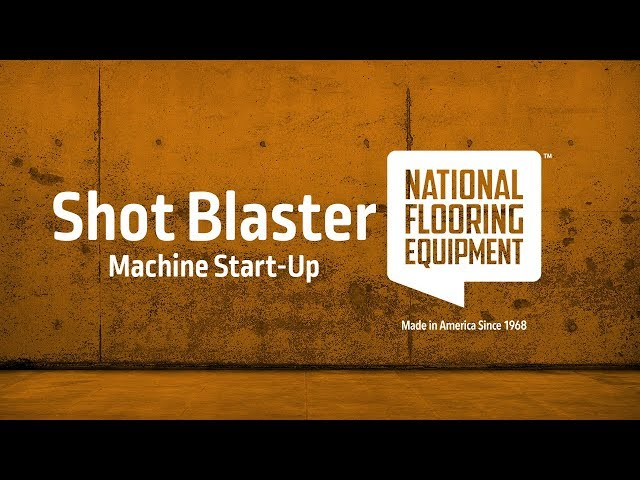 Overview of National Flooring Equipment's Shot Blasters