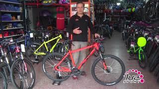 Uso correcto de los cambios en una bicicleta MTB