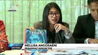 Mantan Gubernur Nusa Tenggara Barat TGB Bantah Terima Suap di Kasus Divestasi Newmont