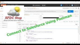 Connect to Salesforce using Postman