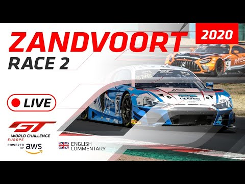 2020年 ブランパンGTワールドチャレンジ(ザントフールト)レース2ライブ配信動画