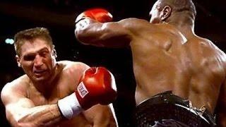 Mike Tyson vs Andrew Golota \ Майк Тайсон vs  Анджей Голота (убежал с ринга)