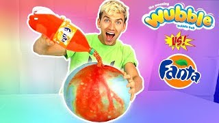 SODA VS WUBBLE BUBBLE!!