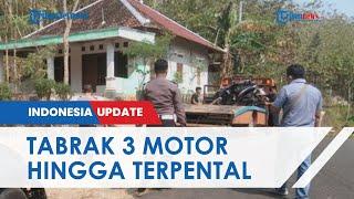 Mobil yang Dikendarai Remaja 17 Tahun Tabrak 3 Motor di Gunung Kidul hingga Terpental, 1 Tewas