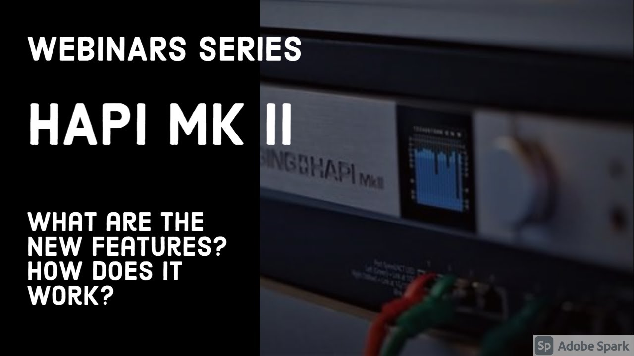 Hapi MkII is now available - what is it and what is new ?