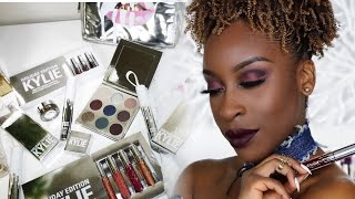 Kylie Holiday Edition Review + Tutorial/Swatches  Jackie Aina