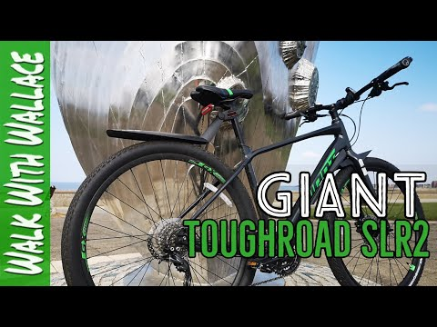 Видео о Велосипед Giant TOUGHROAD SLR 2 blue 6S052915