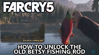 Far Cry 5 - How to Unlock Old Betsy Fishing Rod (Best Rod) - Master Angler Achievement/Trophy