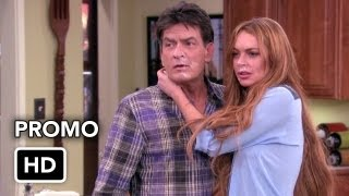"Линдсей Лохан, Anger Management 2x12 Promo ""Charlie Gets Lindsay Lohan in Trouble"" (HD)"