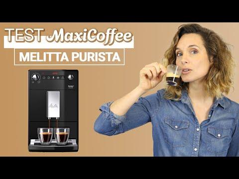 MELITTA PURISTA | Machine à café grain | Le Test MaxiCoffee
