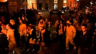 preview picture of video 'Zombie walk Hradec Králové 15.11.2010'