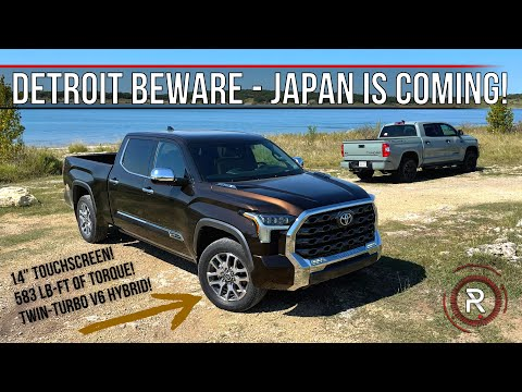 The 2022 Toyota Tundra 1794 Is A Modern Electrified Truck That Can Challenge The Best From Detroit
