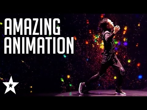 TOP DIGITAL DANCERS on Got Talent | Amazing Animation On Got Talent | Got Talent Global
