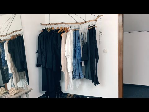 Meine DIY Ast-Kleiderstange: How To